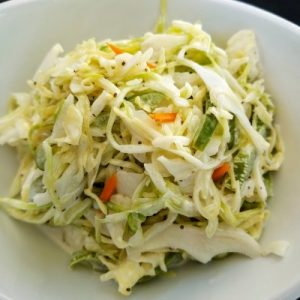 side of cole slaw