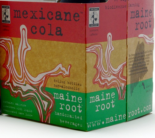 box of Maine Root Mexicane Cola