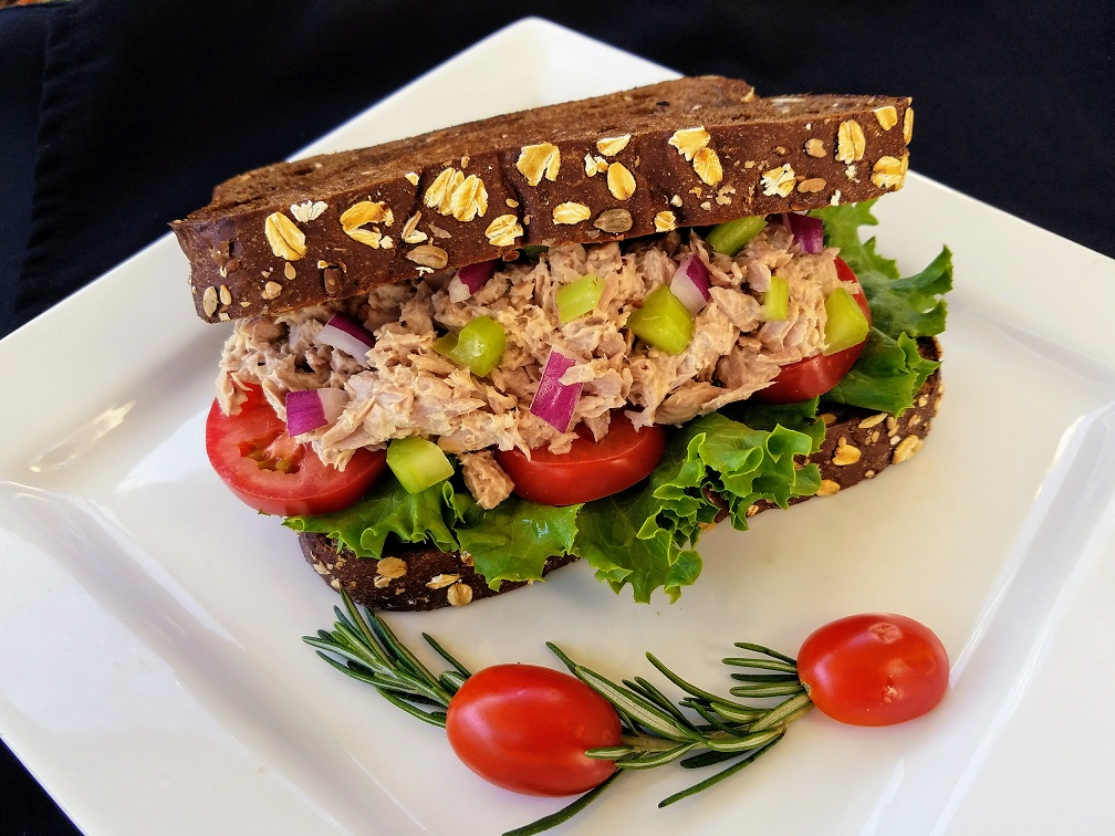 Aninimal Book: Tuna Salad Sandwich - Deli Sandwich - Freshella Kitchen ...