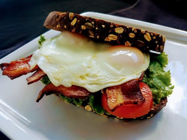 Blt Sandwich with Fried Egg