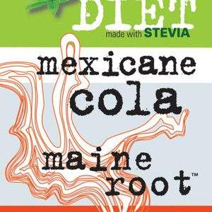 Maine Root Diet Cola label