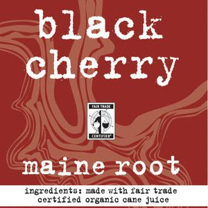 Maine Root Black Cherry label
