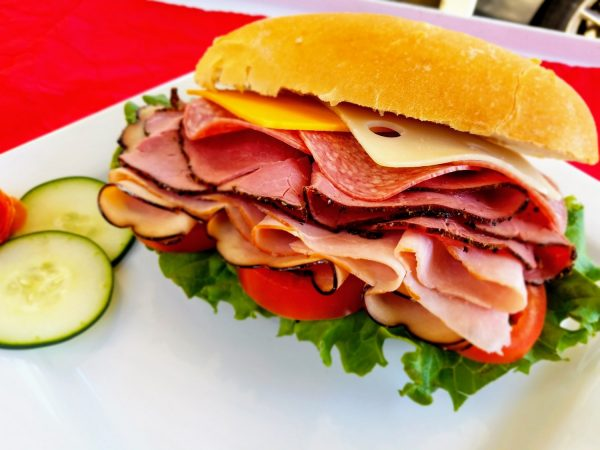 Assorted Deli Meats Sandwich